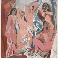 Pablo Picasso, 1907, Les Demoiselles d'Avignon
